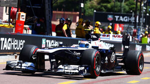 Valtteri Bottas - Williams - Formel 1 - GP Monaco 2013