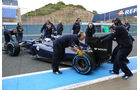 Valtteri Bottas - Williams - Formel 1 - Test - Jerez - 29. Januar 2014