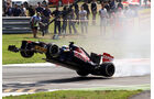 Vergne GP Italien F1 Crashs 2012