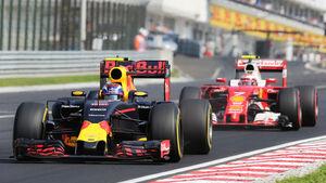 Verstappen vs. Räikkönen - GP Ungarn 2016