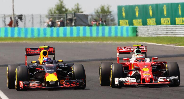 Verstappen vs. Raikkönen - GP Ungarn 2016
