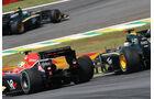 Vettel Webber GP Brasilien 2010