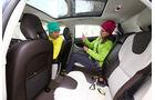 Volvo V40 Cross Country, Rücksitz, Beinfreiheit
