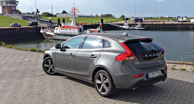 Volvo V40 D3, Heckansicht
