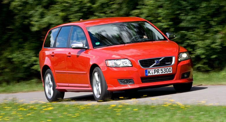 Volvo V50, Front