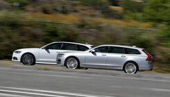 Volvo V90 gegen Audi A6 Avant