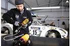 Werkstatt, ROWE Racing, Mechaniker