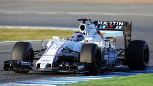 Williams FW37 Valtteri Bottas Jerez Testfahrten