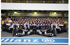 Williams Teamfoto 2012