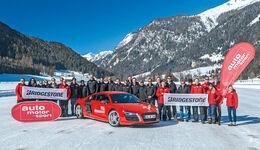Winterfahrtraining - Bridgestone - Audi