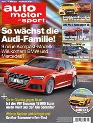 auto motor und sport 7 / 2015 Titel