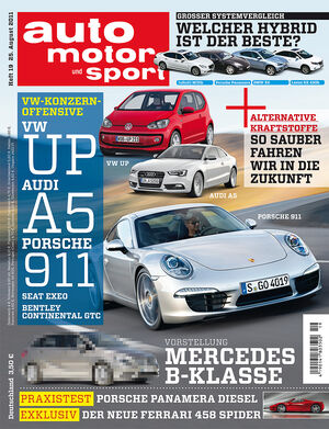 auto motor und sport Heft 18/2011