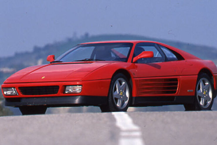ferrari 348 auto motor und sport. Black Bedroom Furniture Sets. Home Design Ideas