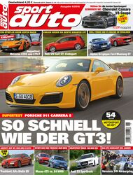sport auto 6/2016 - Titel