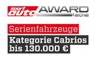 sport auto Award 2012 Serienfahrzeuge Kategorie Cabrios bis 130.000 Euro