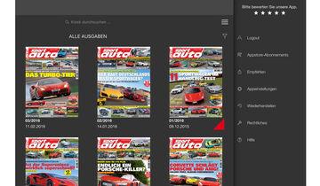 sport auto Digital, ePaper, eMagazin, Android, Tablet und Smartphone