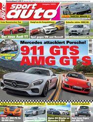 sport auto, Heft 01/2015, Cover
