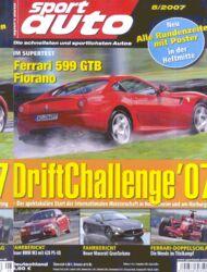 sportauto, Heft 08/2007