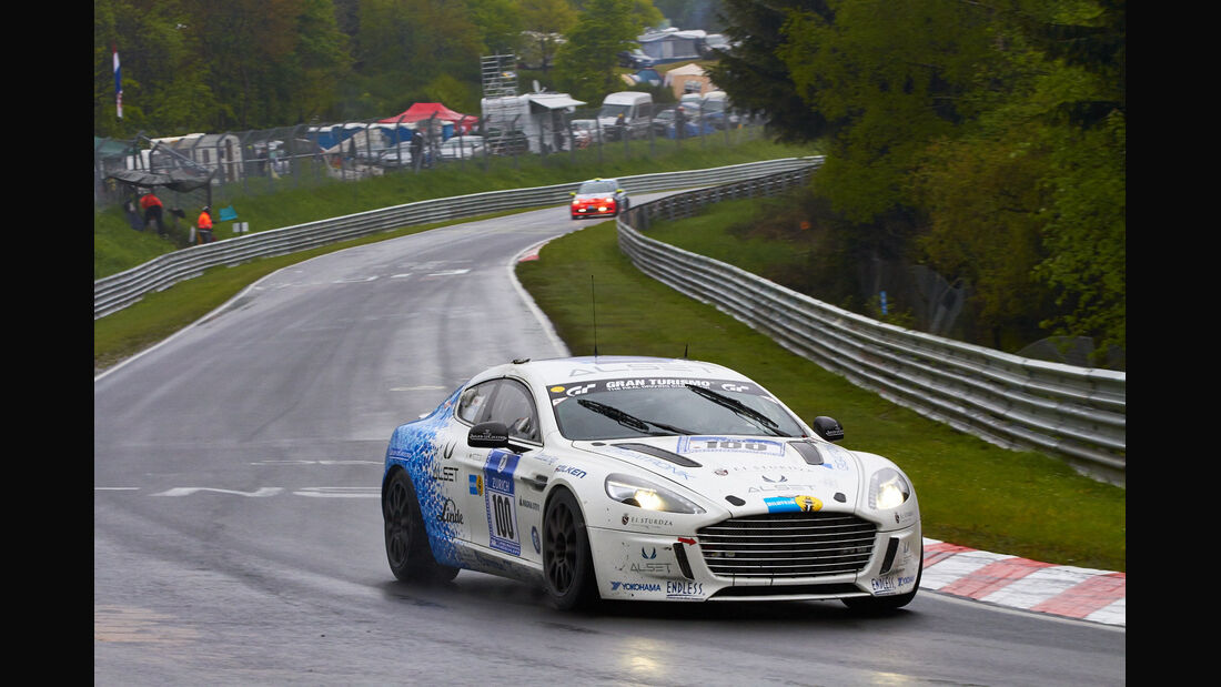 #100, Aston Martin Rapide S , 24h-Rennen Nürburgring 2013