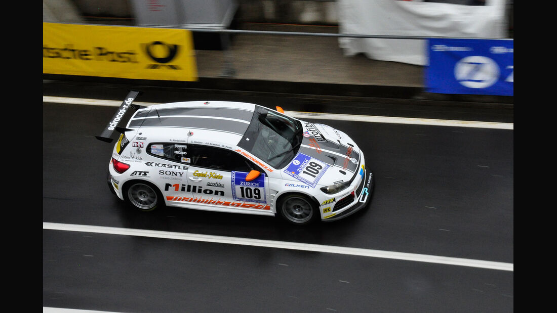 #109, Volkswagen Scirocco , 24h-Rennen Nürburgring 2013