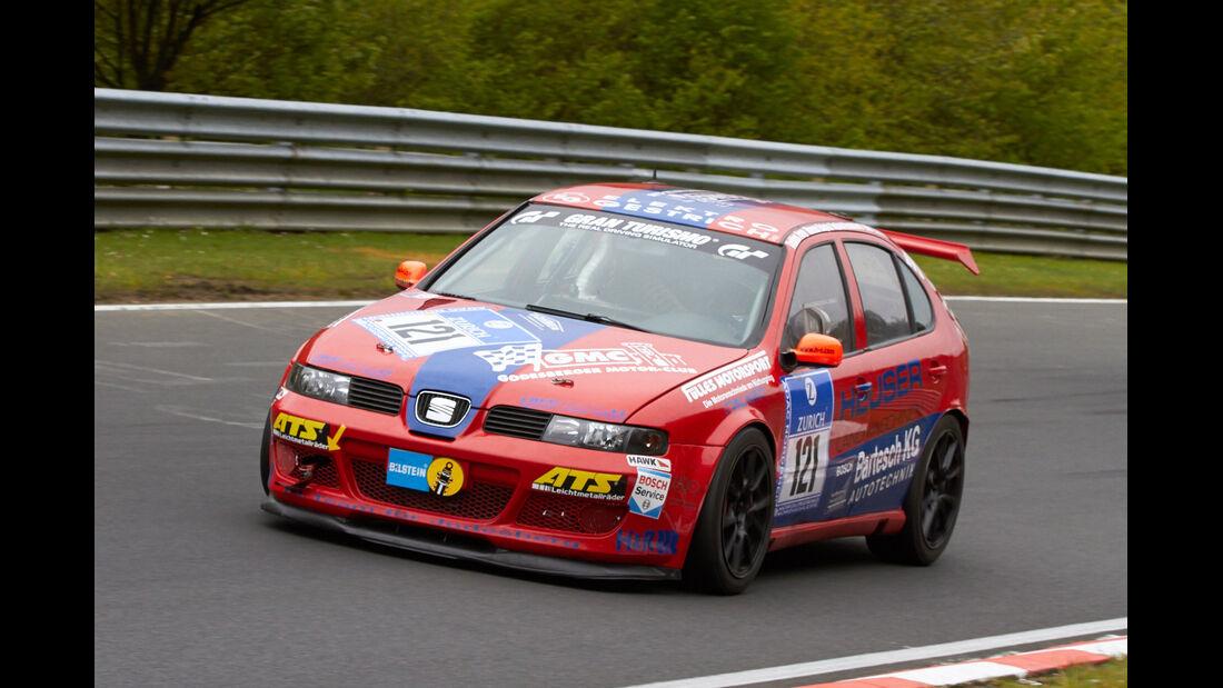 #121, Seat Leon , 24h-Rennen Nürburgring 2013