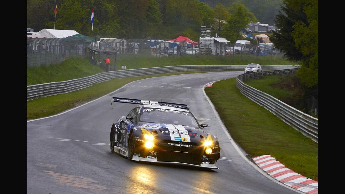 #123, Nissan GT-R Nismo GT3 , 24h-Rennen Nürburgring 2013