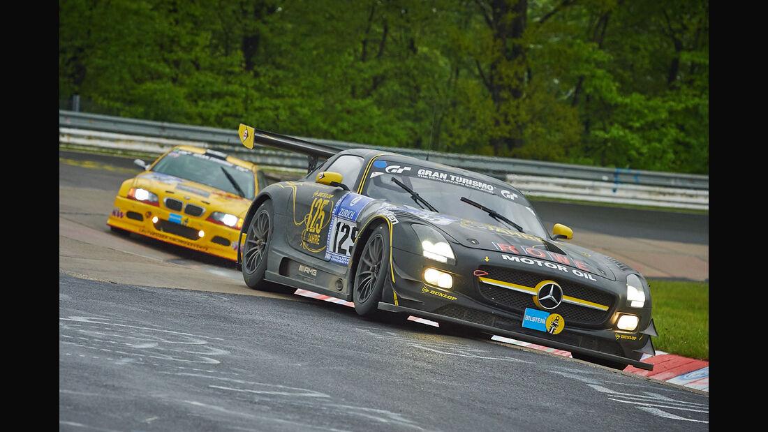 #125, Mercedes-Benz SLS AMG GT3 , 24h-Rennen Nürburgring 2013