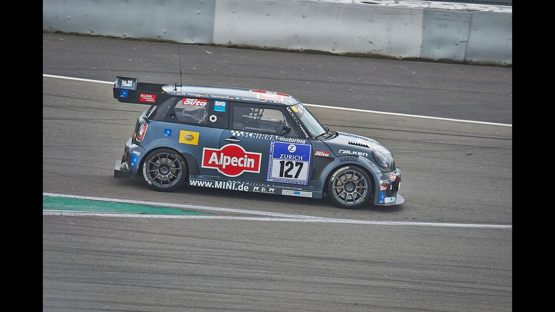 #127, MINI Cooper JCW , 24h-Rennen Nürburgring 2013