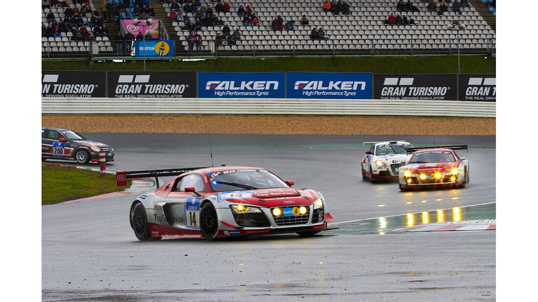 #14, Audi R8 LMS ultra , 24h-Rennen Nürburgring 2013