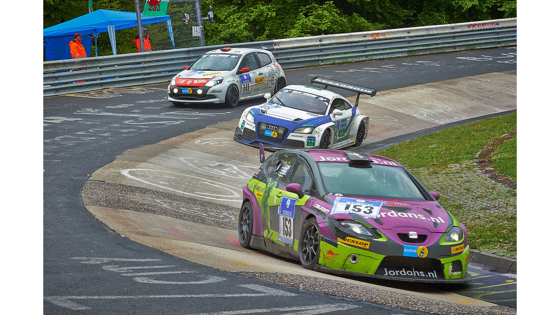 #153, Seat Leon TDI , 24h-Rennen Nürburgring 2013