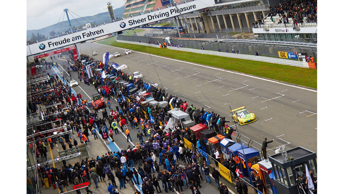 #18, Porsche 911 GT3 RSR , 24h-Rennen Nürburgring 2013