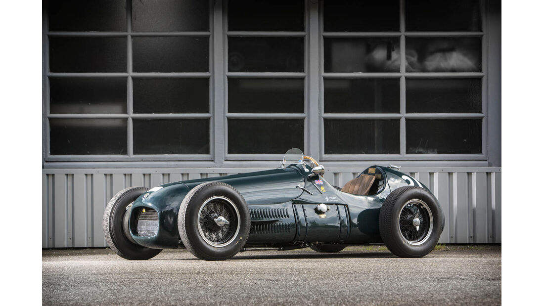 '1952-53 HWM Formula 2-Based Supercharged ''Tasman'' Racing Einsitzer'