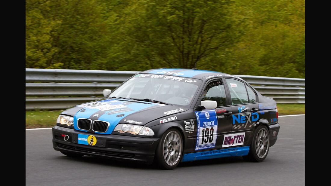 #198, BMW 325i , 24h-Rennen Nürburgring 2013