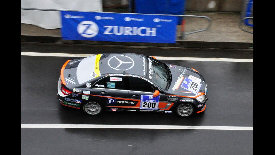 #200, Mercedes-Benz C 230 , 24h-Rennen Nürburgring 2013