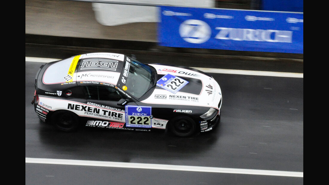 #222, BMW Z4 3,0 Si , 24h-Rennen Nürburgring 2013