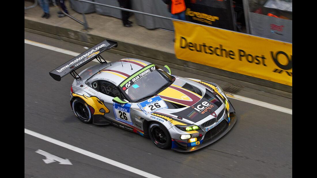 #26, BMW Z4 GT3 , 24h-Rennen Nürburgring 2013