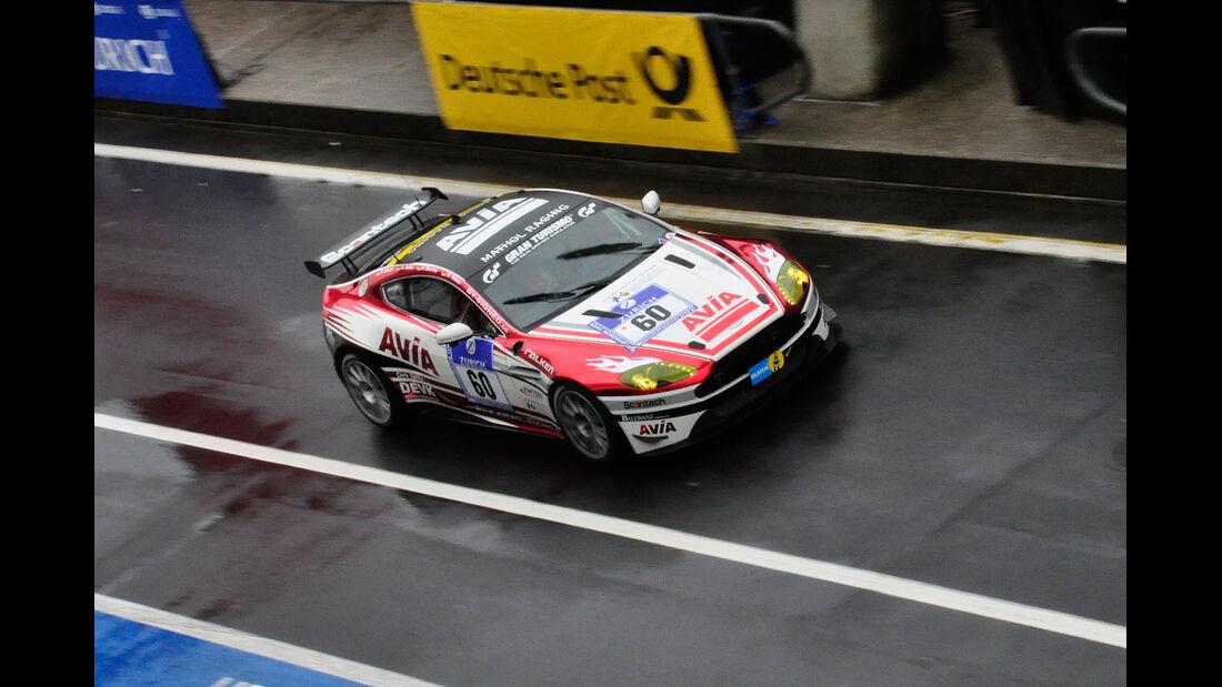 #60, Aston Martin Vantage V8 GT4 , 24h-Rennen Nürburgring 2013
