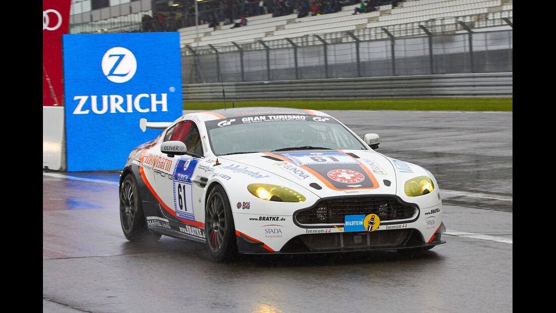#61, Aston Martin Vantage V8 GT4 , 24h-Rennen Nürburgring 2013