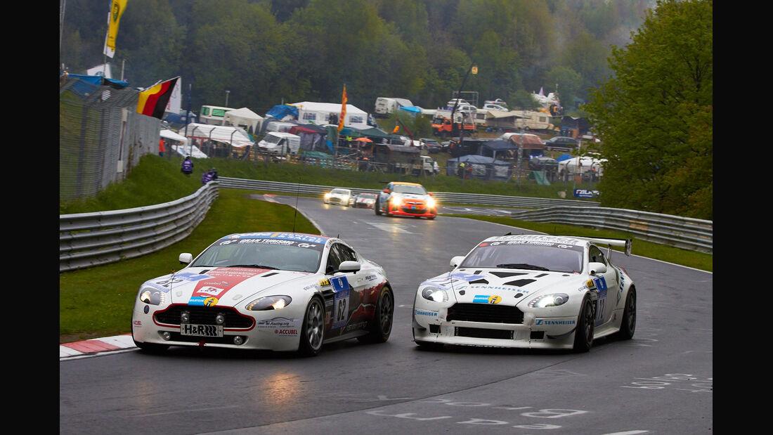 #72, Aston Martin Vantage , 24h-Rennen Nürburgring 2013