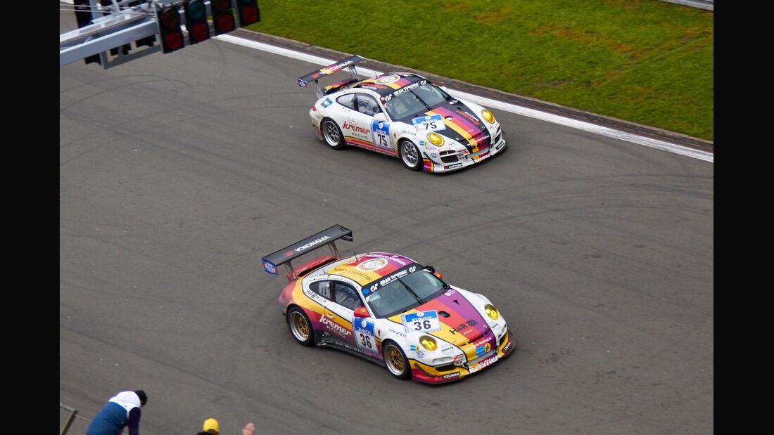 #75, Porsche 997 GT3 , 24h-Rennen Nürburgring 2013