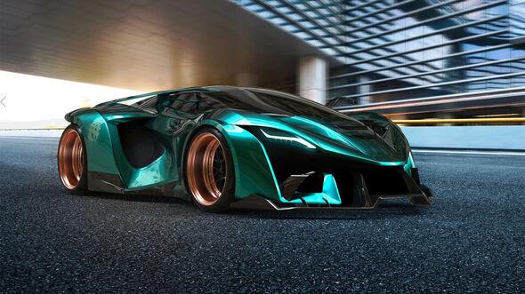Ajlani Motors Drakuma Hypercar 2019