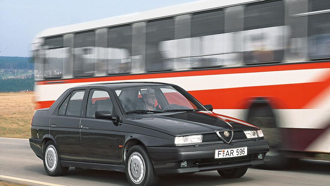Alfa 155 V6, Frontansicht