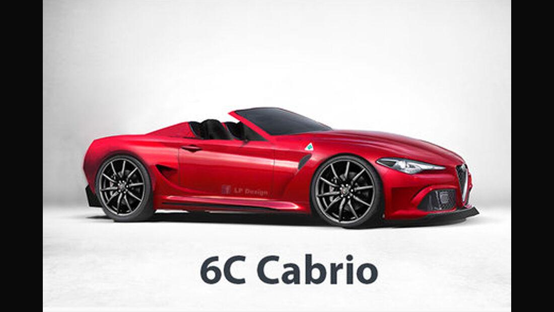 Alfa Romeo 6C Cabrio