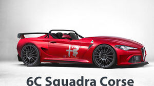 Alfa Romeo 6C Squadra Corse