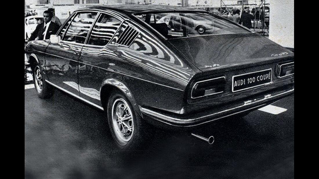Audi, 100 Coupé, IAA 1969