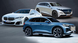 Audi Q5 e-tron / Q6 e-tron BMW 5er 2024 Mercedes EQS SUV