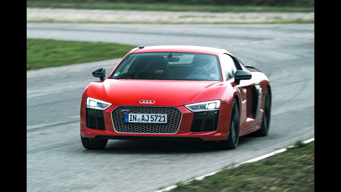 Audi R8 V10 Plus, Exterieur