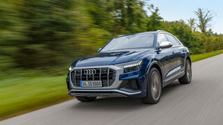 Audi SQ8, SUV-Test ams1320