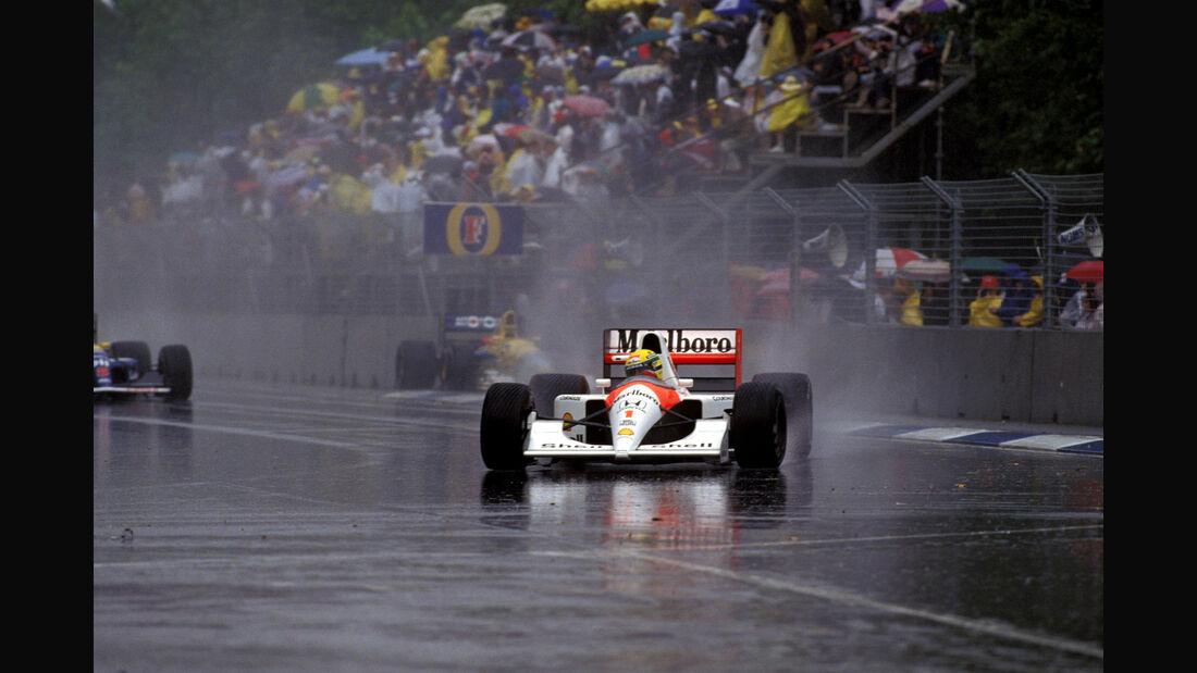 Ayrton Senna - McLaren MP4/6 - GP Australien 1991 - Adelaide