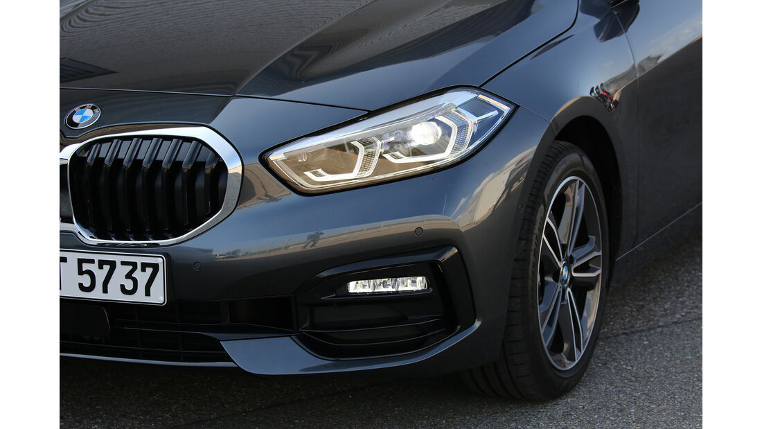 BMW 118d, Exterieur
